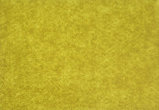 Yellow felt background Royalty Free Stock Images