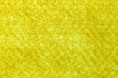 Yellow felt sheet Royalty Free Stock Image