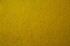 Yellow felt texture Stock Photos