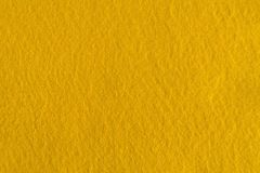 Yellow felt texture for background. Royalty Free Stock Photos