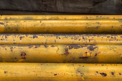 Yellow fences Royalty Free Stock Images