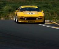 Yellow Ferrari 308GTB race car Stock Photo