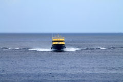 Yellow ferry Stock Images