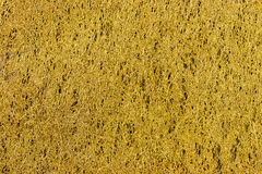 Yellow fiber texture background Stock Images