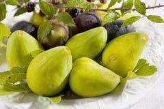 Yellow figs Stock Image