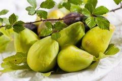 Yellow figs Stock Photos