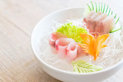 yellow fin tuna sashimi Royalty Free Stock Image