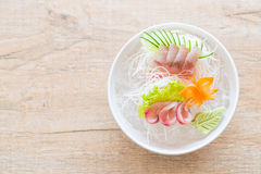 Yellow fin tuna sashimi Royalty Free Stock Images