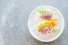 Yellow fin tuna sashimi Stock Photo