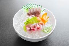 Yellow fin tuna sashimi Royalty Free Stock Image