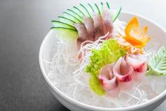 Yellow fin tuna sashimi Royalty Free Stock Photography
