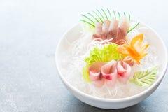 Yellow fin tuna sashimi Stock Photography