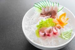 Yellow fin tuna sashimi Royalty Free Stock Photos