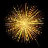 Yellow firework vector design for Festival. Vector firework design for festival Stock Photo
