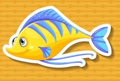 Yellow fish Stock Photo