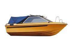 Yellow fishing boat Royalty Free Stock Photo