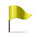 Yellow flag Stock Photos