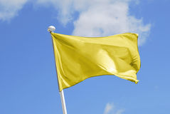 Yellow flag Stock Photography