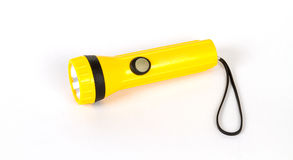 Yellow flash light Royalty Free Stock Photos