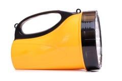 Yellow flashlight Stock Photos
