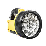 Yellow flashlight Royalty Free Stock Image