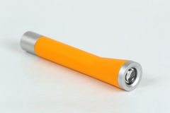 Yellow flashlight. Tool for home use Stock Image