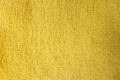 Yellow fleece. Texture for background usage royalty free stock photos