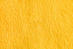 Yellow fleece Royalty Free Stock Photo