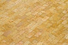 Yellow floor stones Royalty Free Stock Photography
