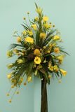 Yellow Floral Arrangement. Stock Photography