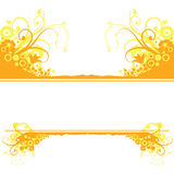 Yellow Floral Background Royalty Free Stock Photos