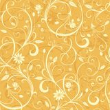 Yellow Floral Pattern Stock Photos