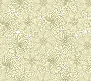 Yellow floral seamless Royalty Free Stock Photo