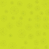 Yellow and flower background Stock Photography