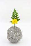 Yellow flower bouquet arrangement in vase Royalty Free Stock Photo