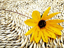 Yellow Flower of Love royalty free stock photo