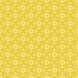 Yellow flower pattern Royalty Free Stock Photos