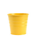 Yellow Flower Pot Stock Photos