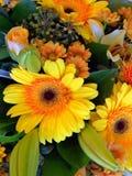 yellow flowerbouquet Stock Photos