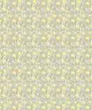 Yellow flowers seamless background Royalty Free Stock Photography