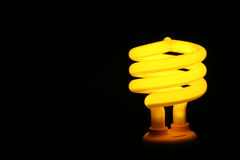 Yellow Fluorescent Light Royalty Free Stock Photography