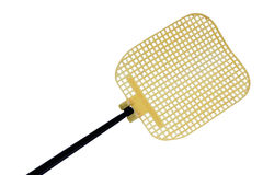 Yellow fly swat Stock Photography