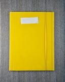 Yellow folder Royalty Free Stock Photos