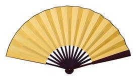 Free Yellow Folding Fan Royalty Free Stock Photo - 135904435