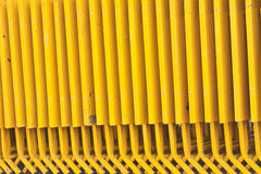 Yellow Folding table Stock Image