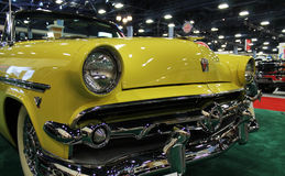 Yellow ford Stock Image