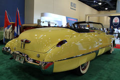 Yellow ford rear Stock Images