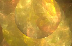 Yellow fractal abstract with sun. Fantasy fractal texture. Digital art. 3D rendering. Computer generated image. Yellow fractal abstract with sun. Fantasy vector illustration
