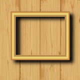 Yellow frame Royalty Free Stock Image