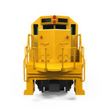 Yellow Freight Train Stock Images